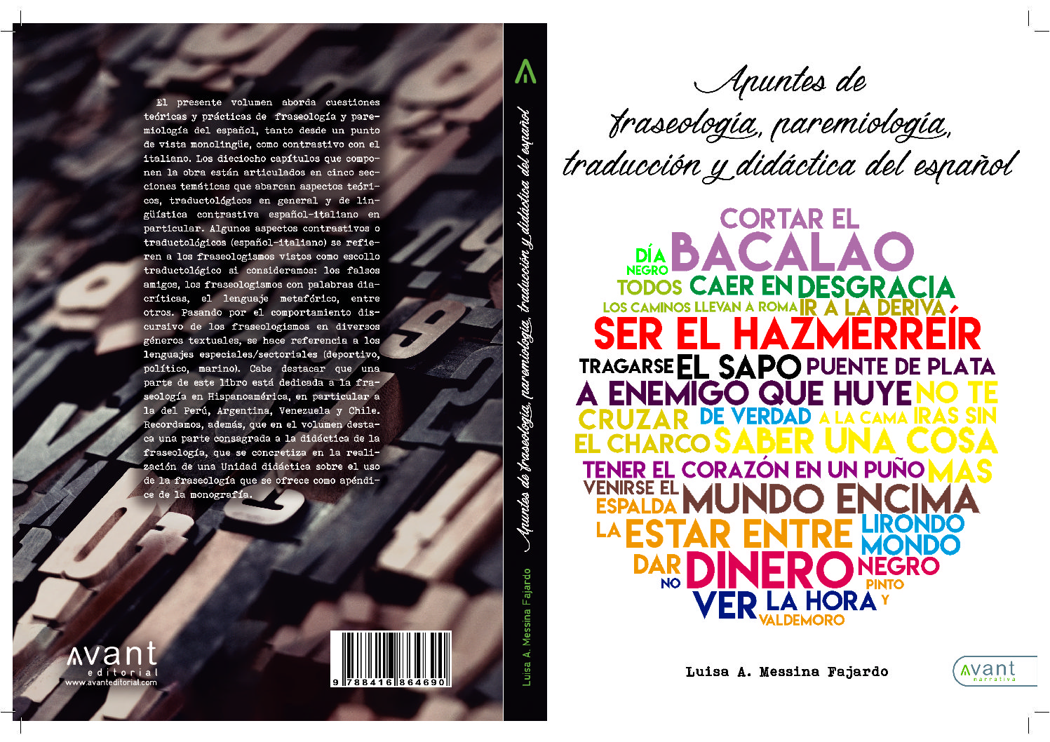 Apuntes de fraseología, paremiología, traducción y didáctica del español a cura di Luisa A. Messina Fajardo